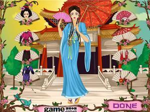 中国古代公主 中国古代公主小游戏|装扮小游戏|神马