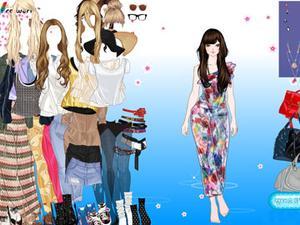 时尚秋季美女 时尚秋季美女小游戏|装扮小游戏|神马