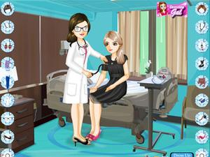 医院美女换装小游戏